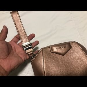 Givenchy Antigona Small Wristlet Purse